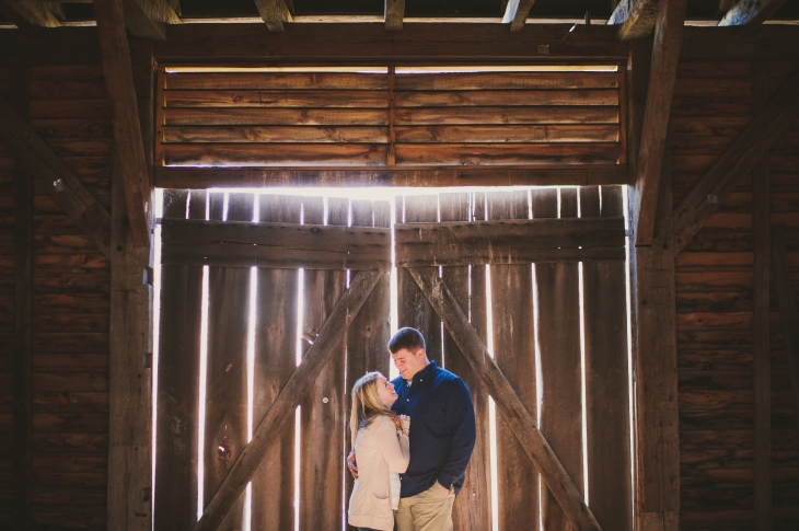 Our Engagement Photos at The Howard County Conservancy